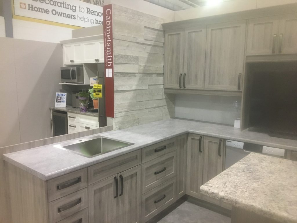 Cabinetsmith kitchen in Jasper Shaker from Home Hardware Fall Market